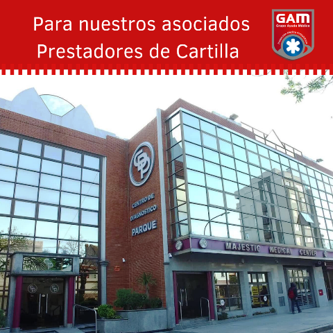 ABM Cartilla! Centro de Diagnostico Parque