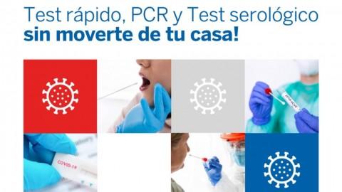 Desde el Grupo Ayuda Médica sumamos el servicio de testeos COVID19 a domicilio!