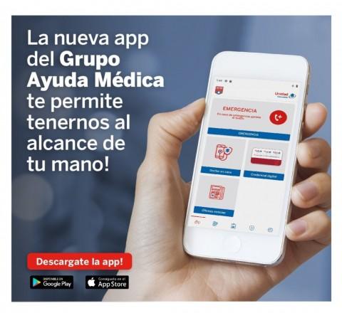 La App del Grupo Ayuda Medica