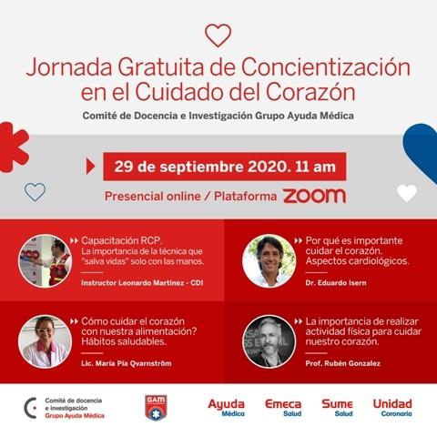 Jornada de Concientización en Reanimación Cardipulmonar