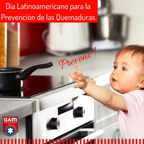 Día Latinoamericano de Prevención de las Quemaduras