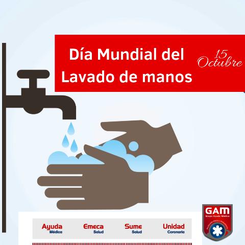 Día Mundial del lavado de manos.