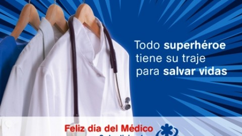 Feliz día del médico.