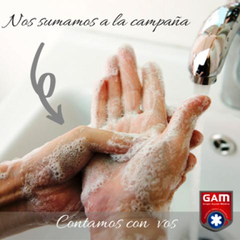 Lavado de manos -Campaña COVID19