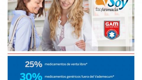 Beneficio para los afiliados: Farmacia con descuento