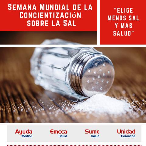 """""""Semana de Sensibilización de la Sal"""""""