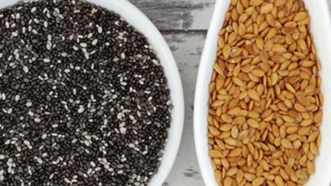 Lino y chía: dos semillas puede ser lo que necesita tu dieta