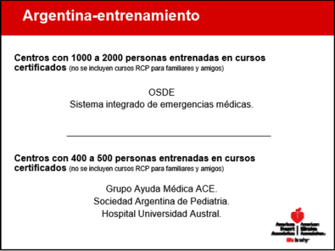 American Heart Association. AHA. Reunión Anual.