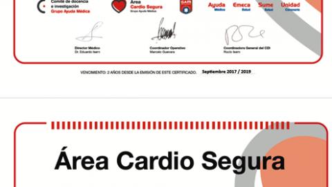 Ausa – Una nueva Área Cardio Segura del CDI