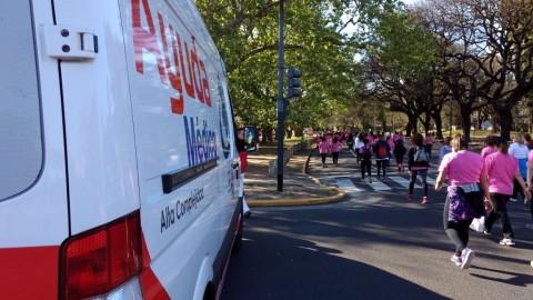13° edición de la caminata contra el cáncer de mama