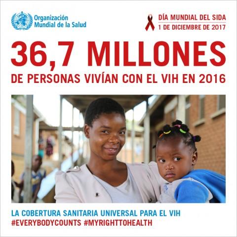 Día Mundial del Sida 2017: cada persona cuenta – 1 de diciembre de 2017